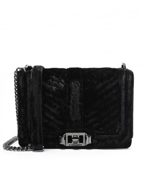 Rebecca Minkoff Velvet Small Love Crossbody Bag