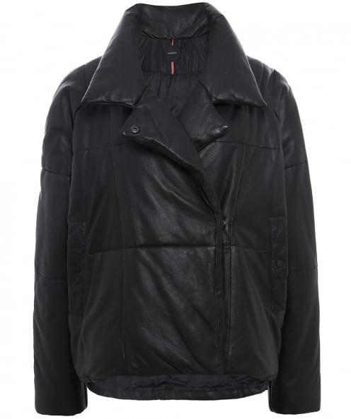 Oakwood Leather Many Quilted Jacket