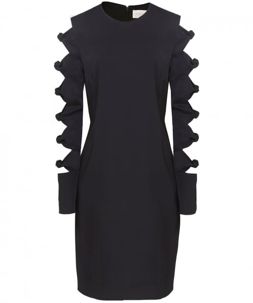 Victoria Victoria Beckham Knot Sleeve Shift Dress
