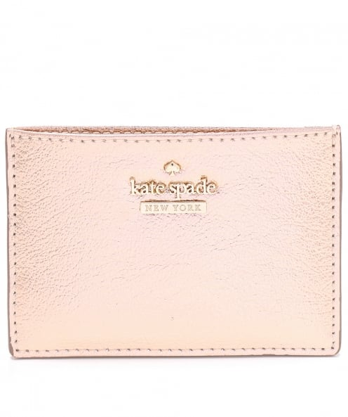 Kate Spade New York Metallic Card Holder