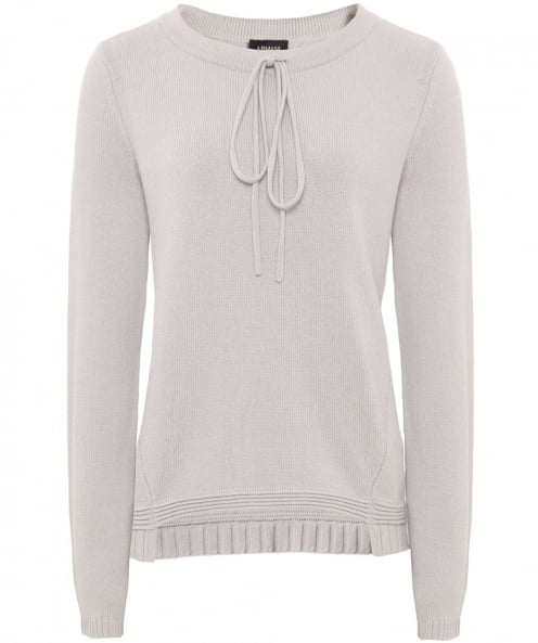 Armani Jeans Wool Drawstring Detail Jumper