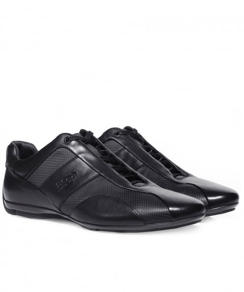 BOSS Leather Mercedes Sporty_Lowp Trainers