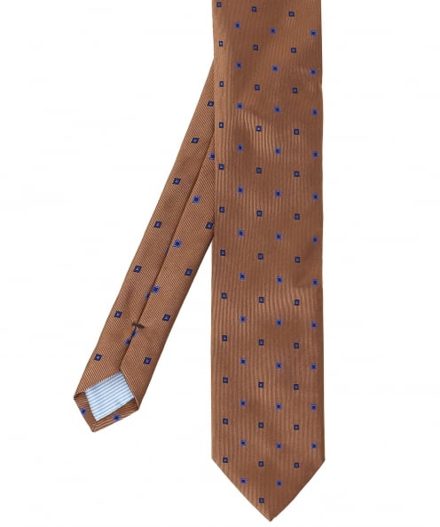 Stenstroms Patterned Silk Tie