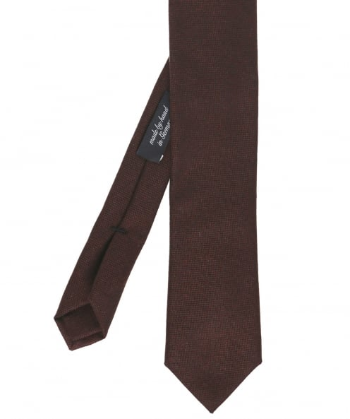 Ascot Accessories Silk Blend Knitted Tie