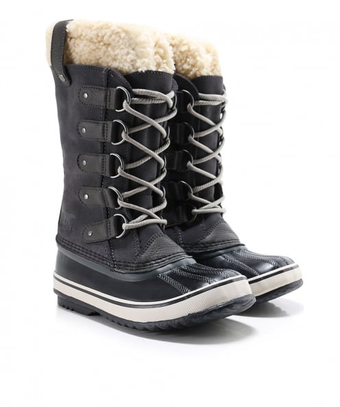 Sorel Suede Joan Of Arctic Shearling Boots