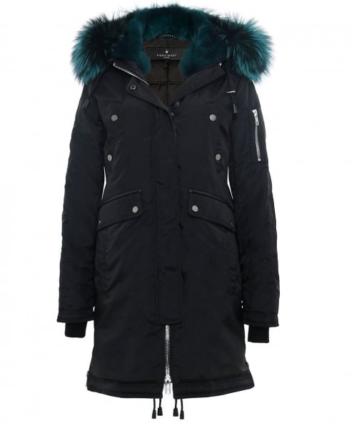 Nicole Benisti Fur Trim Madison Parka