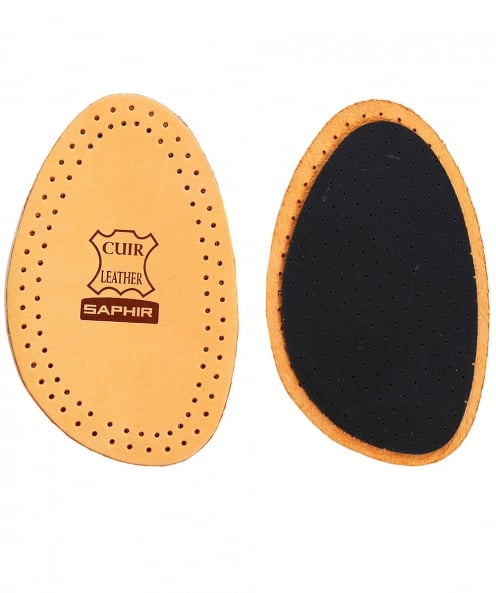 Saphir EU 37/38 Leather on Charcoal Half Insoles