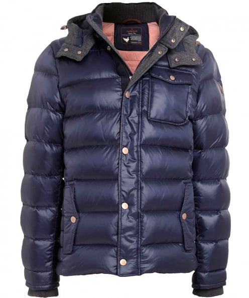 Handstich James Hooded Down Jacket