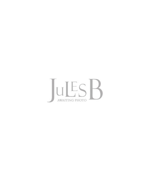 Rino and Pelle Faux Fur Stip Scarf