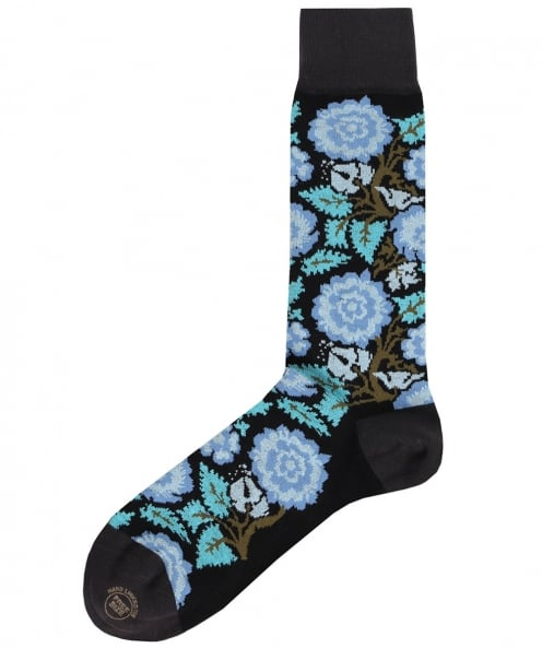 Effio Rose Floral Socks