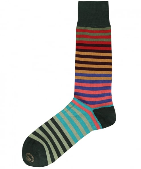 Effio Fade Striped Socks