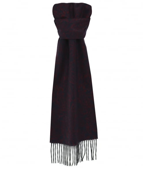 Ascot Accessories Patterned Cashmere Scarf