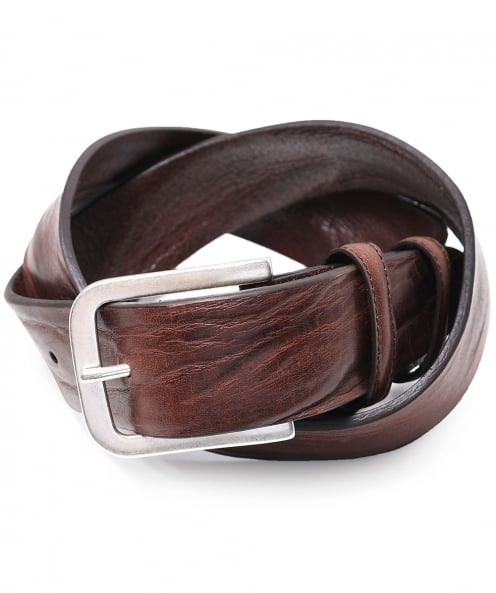 Elliot Rhodes Vintage Feel Leather Belt