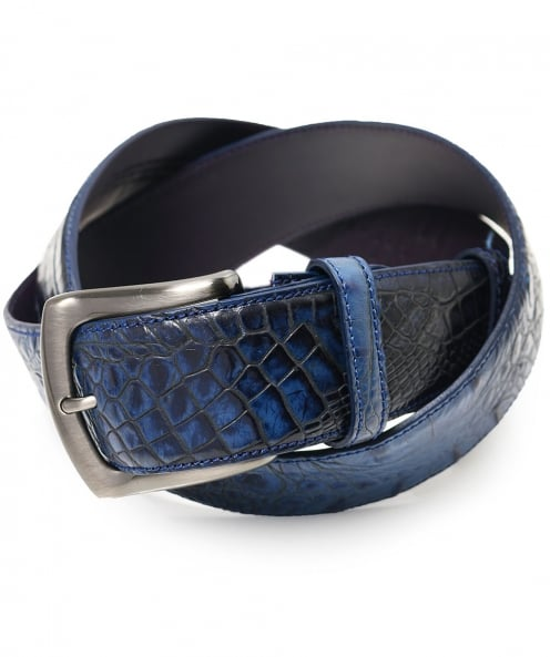 Elliot Rhodes Mock Caiman Belt