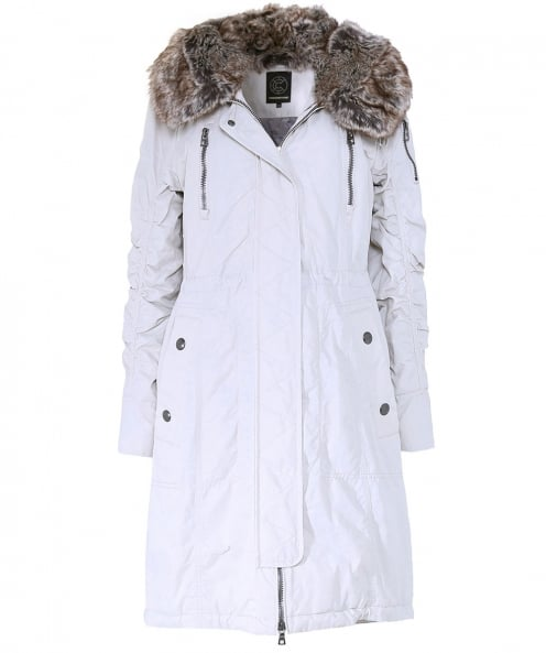 Creenstone Faux Fur Trim Parka