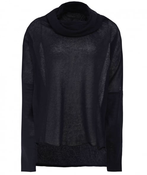 Studio B3 Tashmer Sheer Oversized Jumper