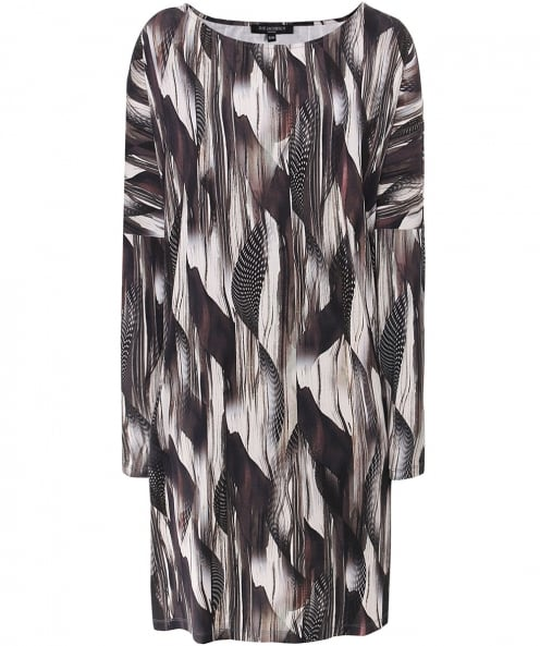 Ilse Jacobsen Feather Print Dress