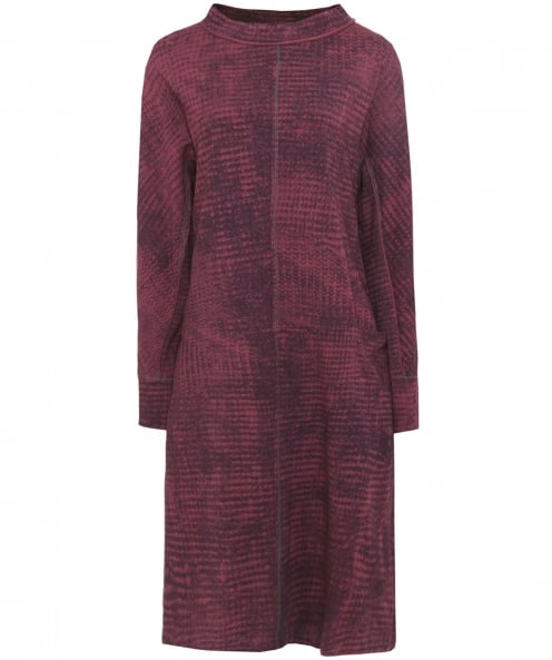 Oska Patterned Jersey Velvina Dress
