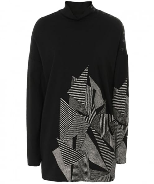 Isabel de Pedro Abstract Print Jersey Jumper