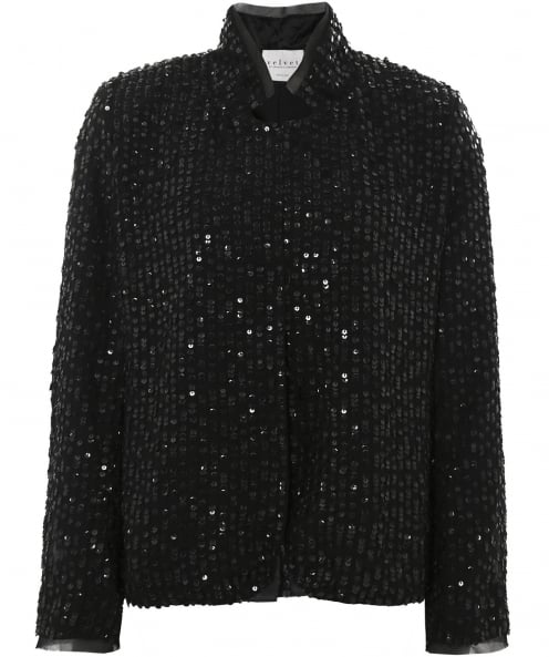 Velvet by Graham and Spencer Embellished Sequin Razi Jacket