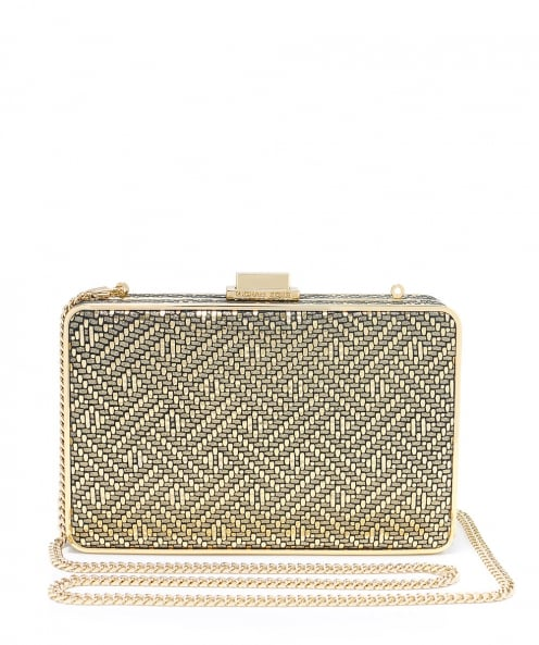 MICHAEL Michael Kors Iridescent Box Clutch