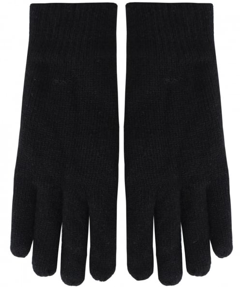 Gant Knitted Wool Blend Gloves