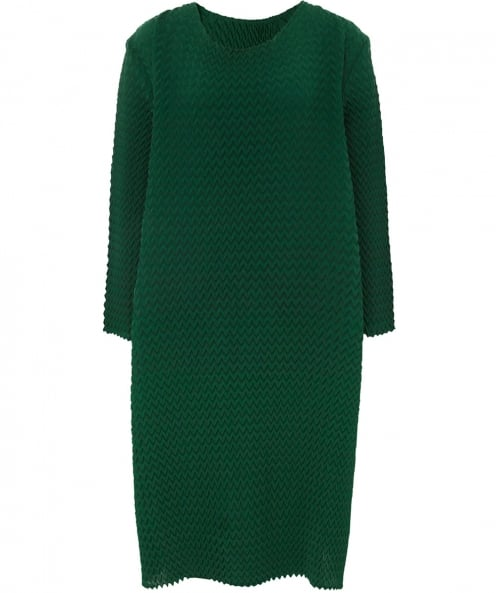 Thanny Fold Texture Dress