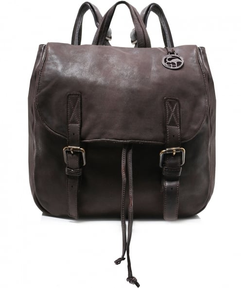 Charlotte Pelletteria Washed Leather Backpack