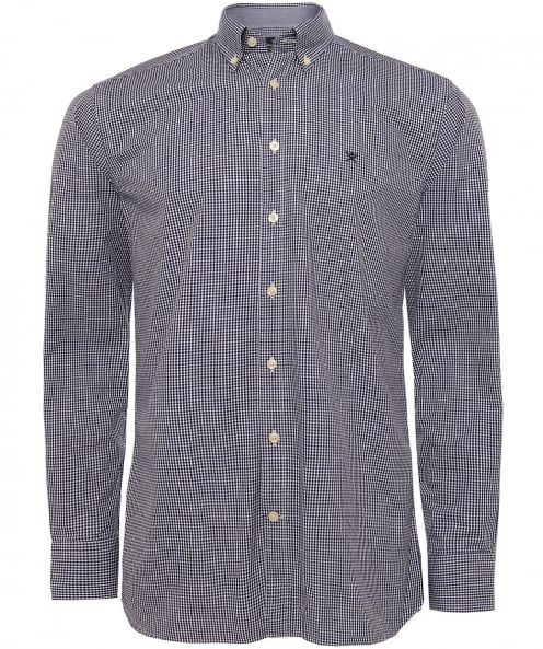 Hackett Slim Fit Micro Gingham Shirt