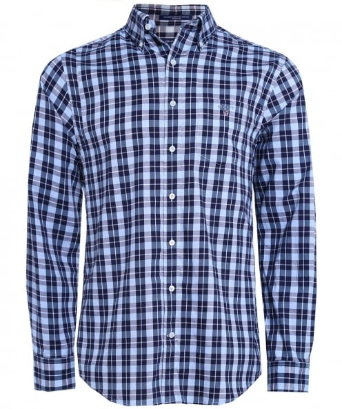 Gant Regular Fit Heather Oxford Shirt