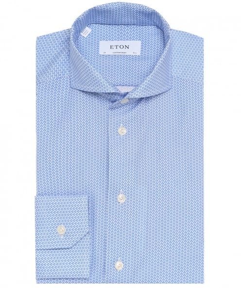 Eton Contemporary Fit Poplin Shirt