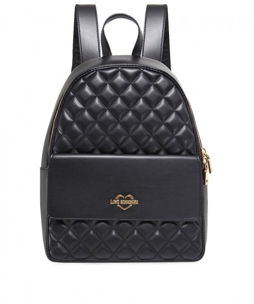 Moschino Love Moschino Quilted Leather Backpack