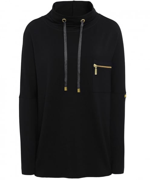 Barbour International Cowl Neck Byway Jumper
