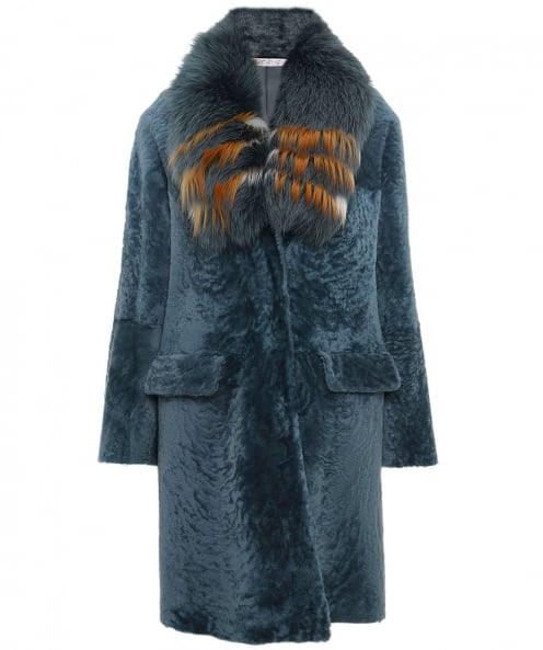 La Reveuse Reversible Fur Coat