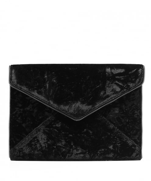 Rebecca Minkoff Velvet Leo Envelope Clutch Bag