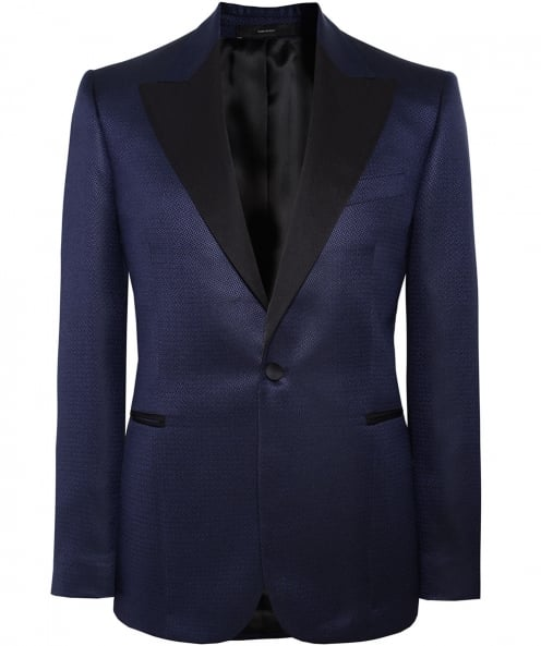 Paul Smith Silk Blend Evening Jacket