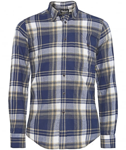 Barbour International Tailored Fit Handle Check Shirt