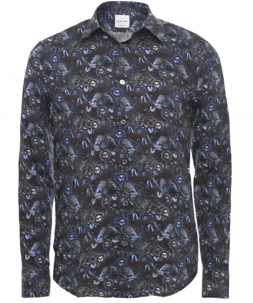 Paul Smith Slim Fit Printed Shirt