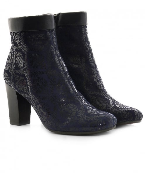 Chie Mihara Suede Abby Ankle Boots