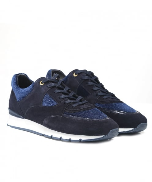 Android Homme Suede Belter Runner Trainers