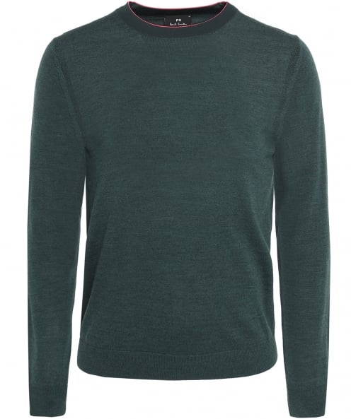 PS by Paul Smith Merino Wool Crew Neck Jumper