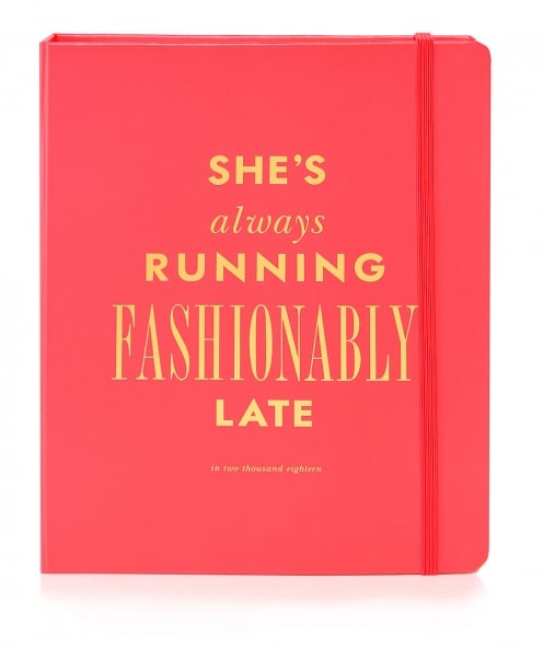 Kate Spade New York Fashionably Late Agenda Notebook