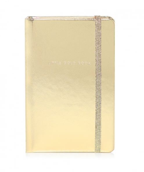 Kate Spade New York Little Gold Notebook