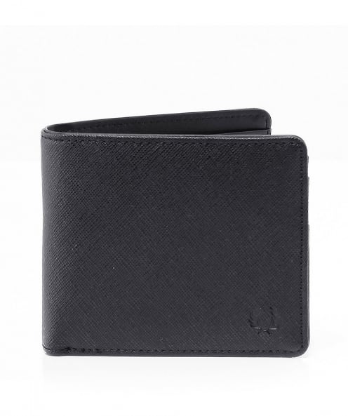 Fred Perry Saffiano Effect Billfold Wallet