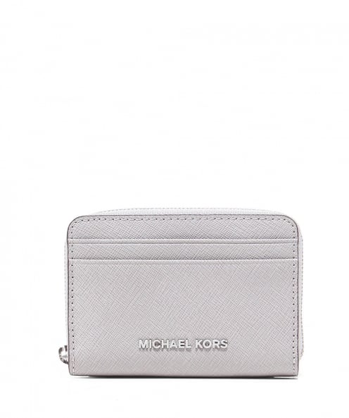 MICHAEL Michael Kors Leather Jet Set Card Holder