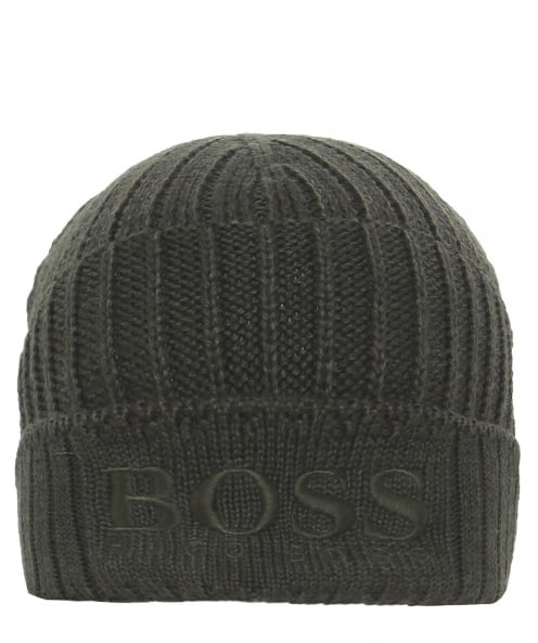 BOSS Virgin Wool Blend Fenno Beanie Hat