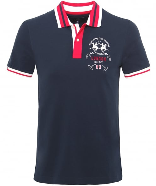 La Martina Pique Vaughan Polo Shirt
