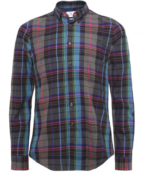 PS by Paul Smith Tailored Fit Check Shirt
