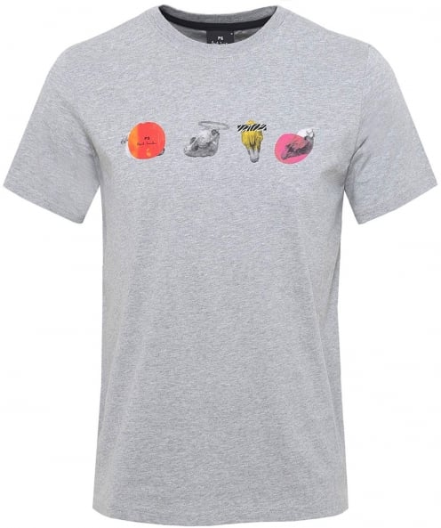 PS by Paul Smith Jersey Skull Print T-Shirt