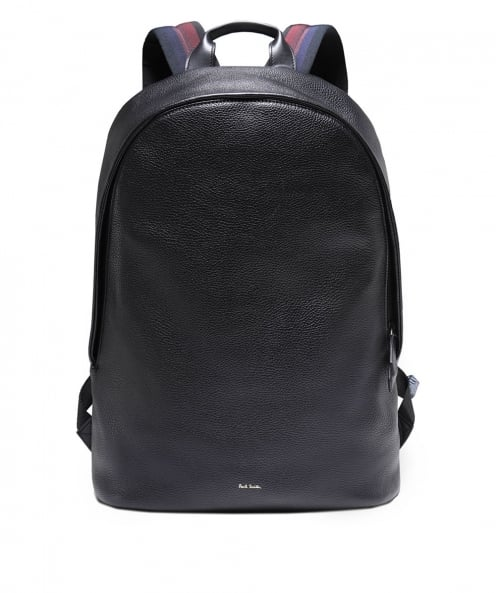 Paul Smith Leather City Webbing Backpack